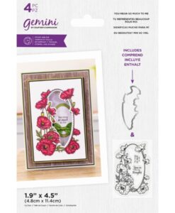 Stamp & Die Floral Frame - You Mean so Much to Me
