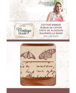 Vintage Diary - Cotton Ribbon