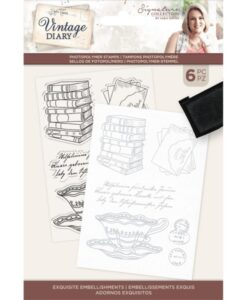 Vintage Diary - Clearstamp - Exquisite Embellishments
