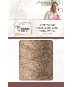 Vintage Diary -Traditional Jute Twine