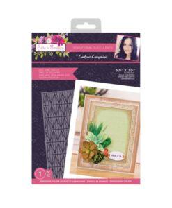 Sensational Succulents - Embossingfolder - Geo Wire Trellis
