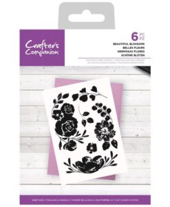 CC- Clearstamp – Beautiful Blossoms