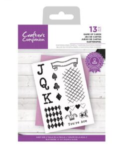 CC - Clearstamp - Game of Cards