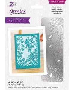 Delicate Create-a-Card Snijmal - Fairy Garden
