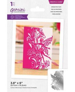 Create-a-Card Scene Edge - Springtime Fairy