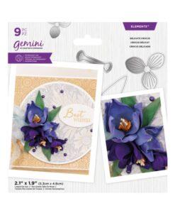 Gemini Elements – Delicate Crocus – Flower Foam Die