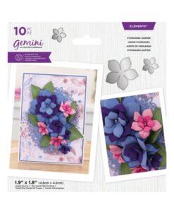 Gemini Elements – Hydrangea Garden – Flower Foam Die