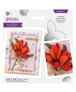 Gemini Elements – Tulip Blooms – Flower Foam Die