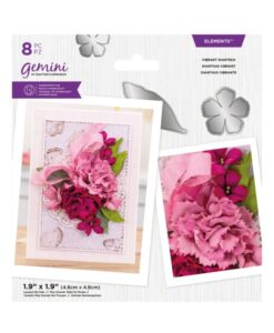 Gemini Elements – Vibrant Dianthus – Flower Foam Die