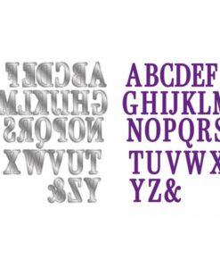 Gemini Expressions Die – Eclipse Alphabet