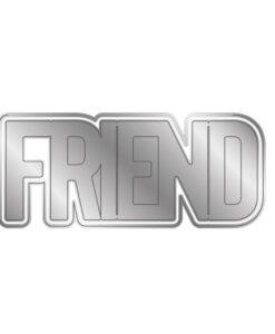 Shaped Word - Snijmal - Friend