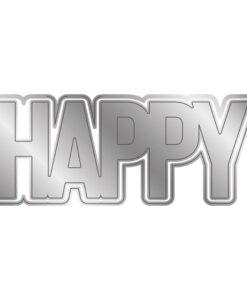 Shaped Word - Snijmal - Happy