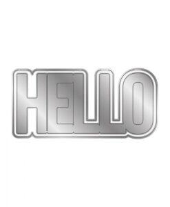 Shaped Word - Snijmal - Hello