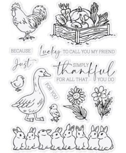 Farmhouse - Clearstamp - Simply Thankful