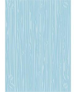 "Farmhouse - 5x7"" Embossing Folder - Textured Wood"