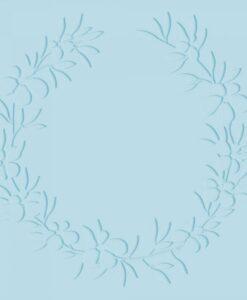 """Farmhouse - 6x6"""" Embossing Folder - Foliage Wreath"""