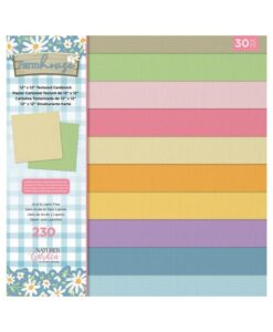 Farmhouse - Textured Cardstock Pad 30x30 cm