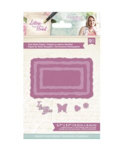 Letters from The Heart - Snijmal - Torn Note Paper
