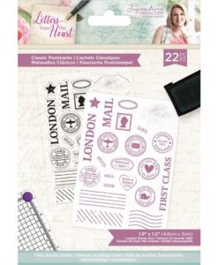 Letters from The Heart - Clearstamp - Classic Postmarks
