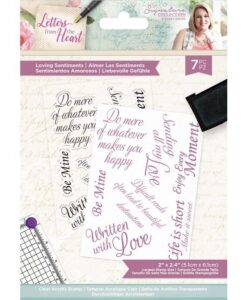 Letters from The Heart - Clearstamp - Loving Sentiments