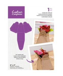 CC - Stencil - Florist Box