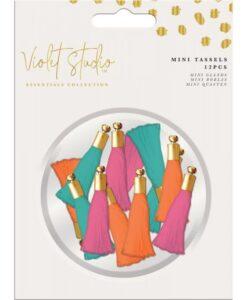 Violet Studio - Mini Tassels - Brights