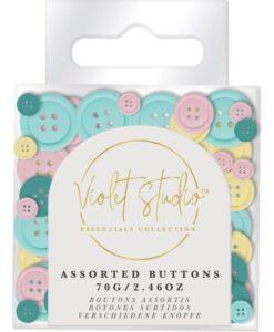 Violet Studio - Buttons - Pastels