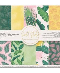 Violet Studio - Paperpad Tropical - 15x15 cm