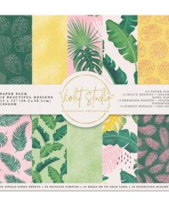 Violet Studio - Paperpad Tropical - 30x30 cm