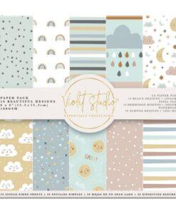 Violet Studio - Paperpad Baby - 15x15 cm
