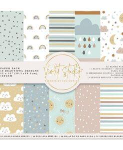 Violet Studio - Paperpad Baby - 30x30 cm