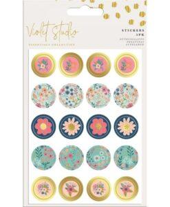 Violet Studio - Mini Stickers - Floral