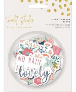 Violet Studio - Card Toppers - Florals