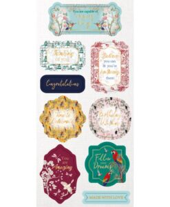 Chinoiserie - 3D Die - Cut Toppers