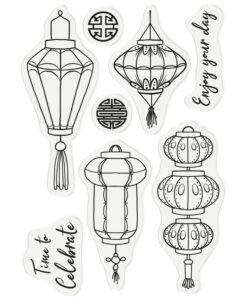 Chinoiserie - Stamp & Die - Oriental Lanterns
