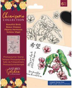 Chinoiserie - Clearstamp - Beautiful Birds