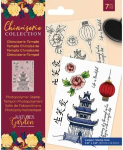 Chinoiserie - Clearstamp - Chinoiserie Temple