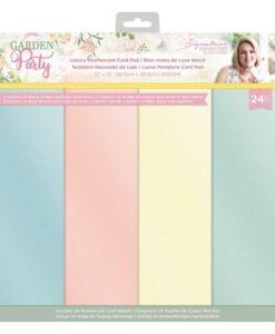Garden Party - Luxury Parelmoer Pad 30x30 cm