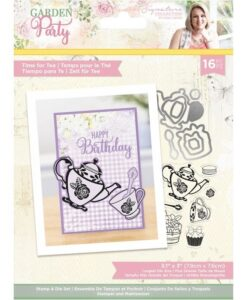 Garden Party - Stamp & Die - Time For Tea