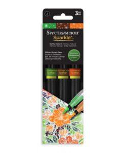 Spectrum Noir Sparkle - Earthy Natural - 3 Pen Sets